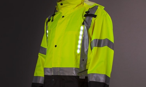 Get Covered from Cool Fall Rain with a Hi Vis Rain Jacket
