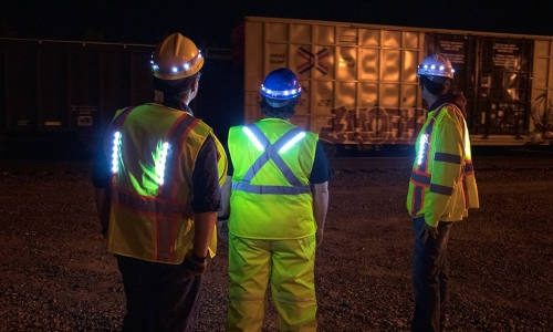 Workers Stay Protected and Illuminated with Lighted Apparel