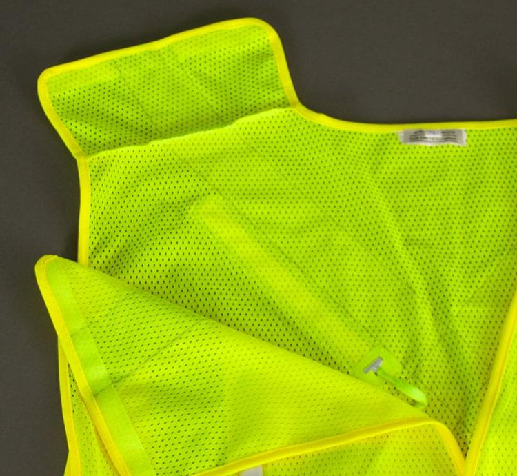 hi vis led safety vest break away top