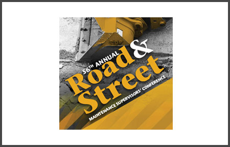 Road and Street Maintenance Supervisors' Conference
